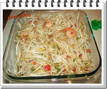 bean sprouts with shrimps1